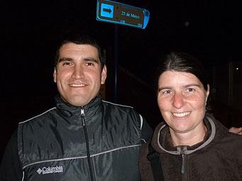 Mariano und Petra