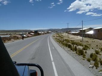 Dorf auf über 4000 Metern