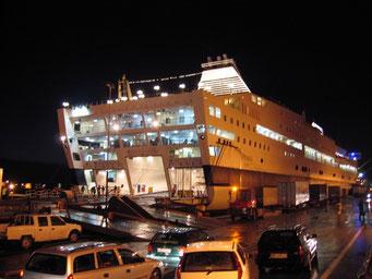 Heimfahrt im Hafen von Tunis