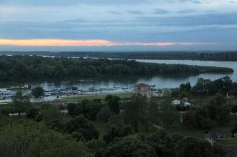 Aussicht auf die Donau