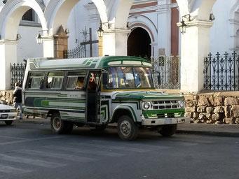 Klassiker, der Bilderbuch-Bus