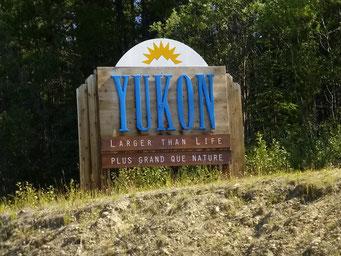Jetzt geht's in den Yukon.....