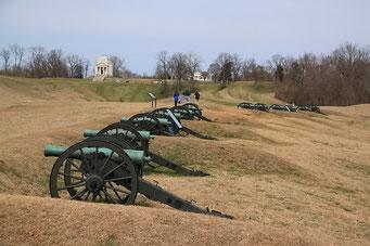 Vicksburg - die Schlachtfelder