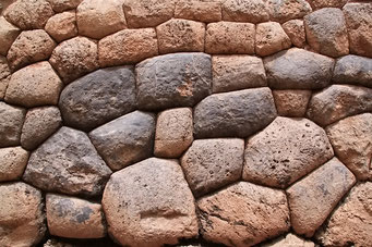 Cuzco, Mauern der Incas