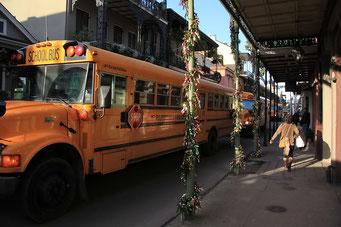 New Orleans - Schulbusse gehören zum Amerikanischen Alltag
