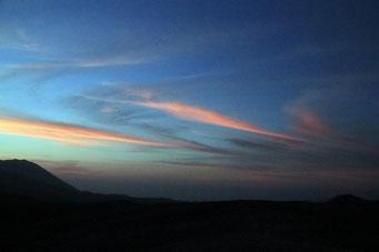 Abendstimmung auf 3000 Meter