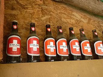 Colonia Suiza bei Bariloche - beim Bier mussten wir uns zurückhalten