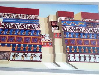 So sahen die Tempelmauern einst aus...