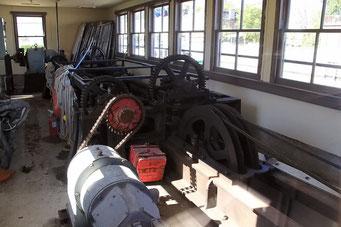 Mechanik der Schleuse bei Sault Ste. Marie, Ontario