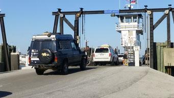 Fähre nach Ocracoke Island, NC, USA