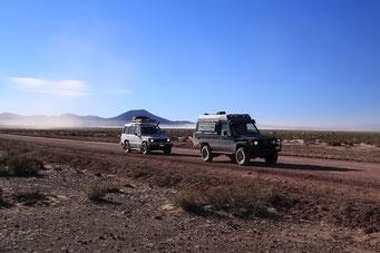Endlose Weiten des Altiplanos
