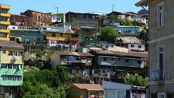 Valparaiso - die etwas weniger repräsentativen Stadtteile