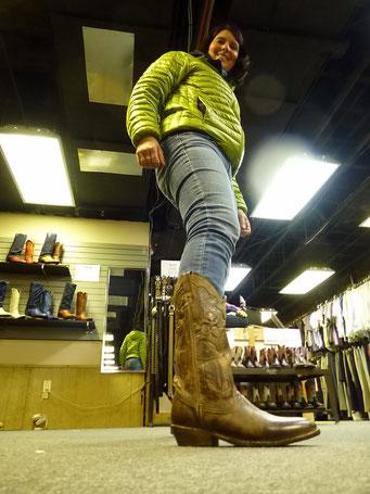 Cowboy-Stiefel für Sie....