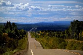 Liard Highway, Kanada