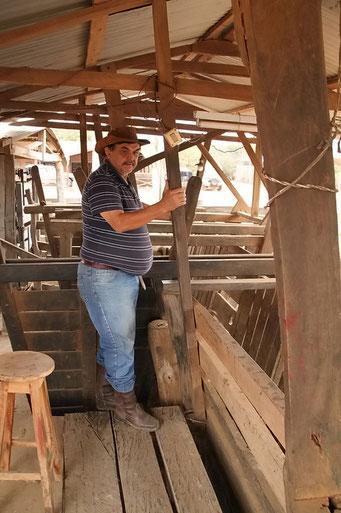 Estancia Mosil - Ramon, der Estanciero