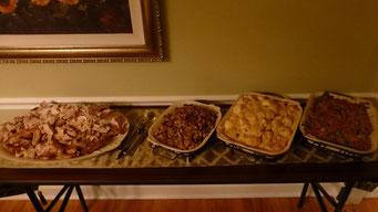 Das Thanksgiving Buffet