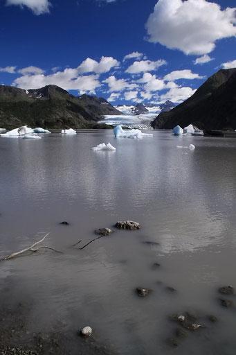 Grewingk Glacier Lake, Alaska