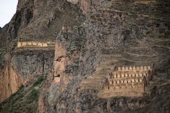 Ollantaytambo Inca Festung