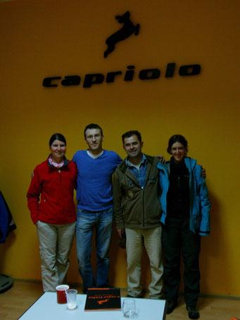 Slobodan und Sascha von Capriolo helfen uns wo es nur geht
