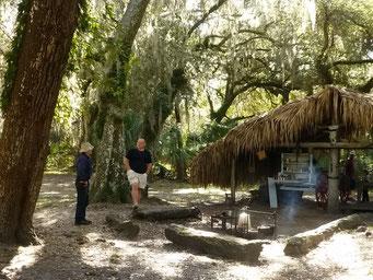 Cracker Behausung (Cowboy in Florida) - Lake Kissimmee