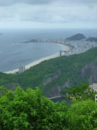 Die Copacabana von oben