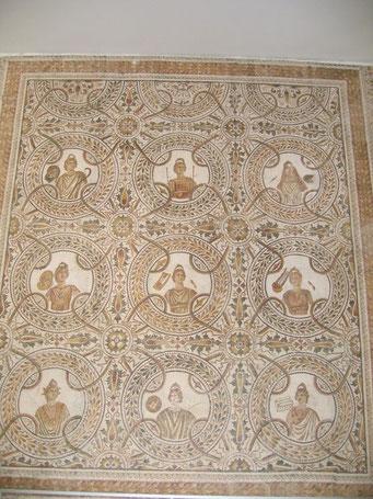 Römische Mosaike, El Jem