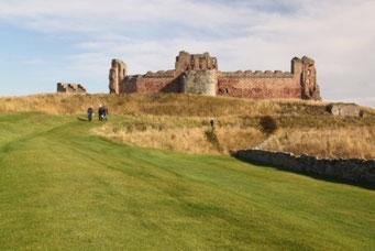 Tantallon Castle bei North Berwick