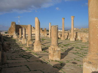 Römische Ruinen bei Haïdra