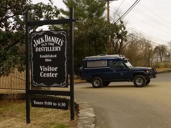 Jack Daniel's Distillerie, Lynchburg, TN