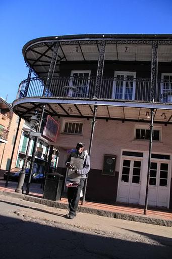 New Orleans - Musik und Rhythmus überall - auch mitten auf der Strasse