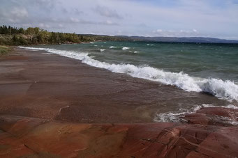 Entlang am Lake Superior, Ontario