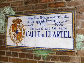 New Orleans - spanische Spuren
