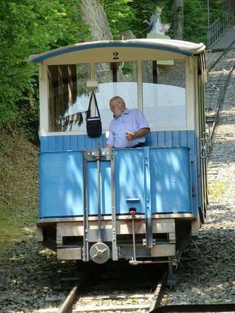 ... Heidiland auf dem Sonnenbergbahn