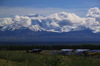 Mount Wrangell-Gebirge, Glennallen Highway, Alaska