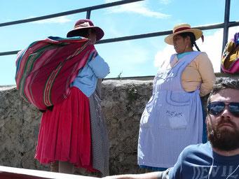 Im Hafen von Puno...