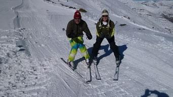 Skifahren wie die Anfänger