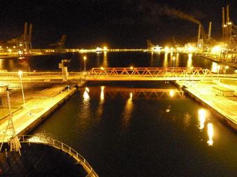 Hafenschleuse von LeHavre