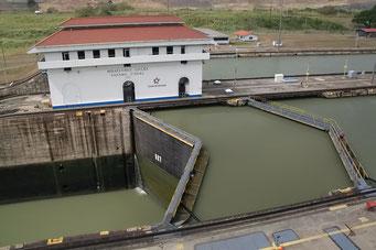 Panama Kanal, Miraflores Schleusen