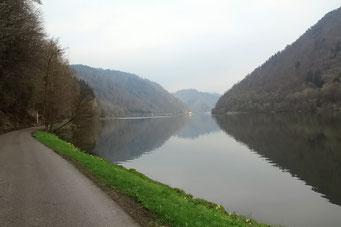 Die Donau, nun ein Strom