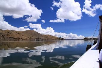 Auf dem Titicaca See