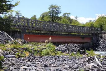 Pumalin Park - pragmatischer Brücken-Neubau