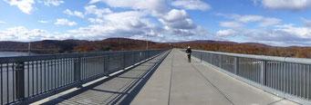 Die längste Fussgänger-Brücke der Welt, Poughkeepsie, New York