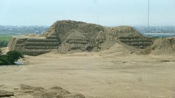 Trujillo - die Pyramiden von Sonne und Mond - Chan Kultur, prä-Inca