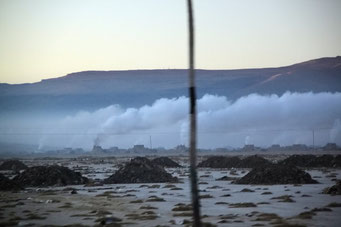 ... Die Nebelfabriken Oruru's...