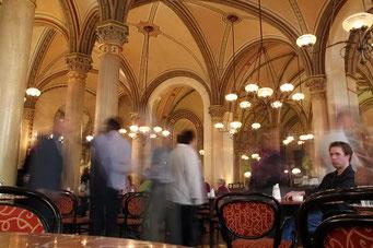 Café Central - gleich neben unserem Hotel