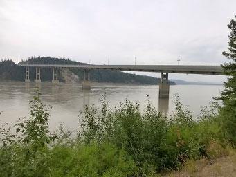 Brücke über den Yukon River, Dalton Highway, Alaska