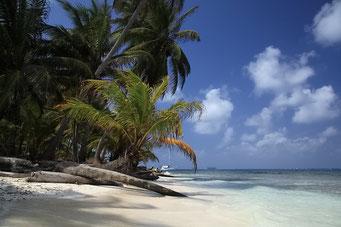 ... die San Blas Inseln...