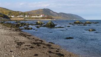 Küste bei Saint Simeon, Québec