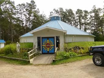 Rundkirche auf Manitoulin Island, Lake Huron, Ontario