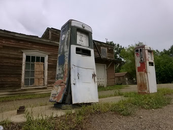 Virginia City, ehemalige Hauptstadt des Territoriums, Montana